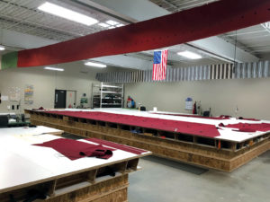 Ohio Awning & Manufacturing Co relocated to integrate larger workstations