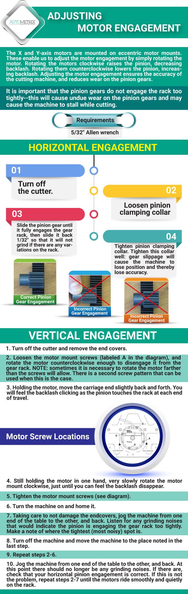 Adjusting your motor engagement