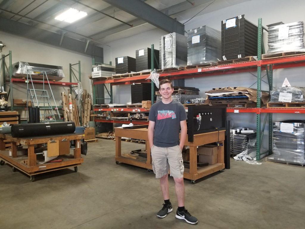 Vaughn at work-Autometrix