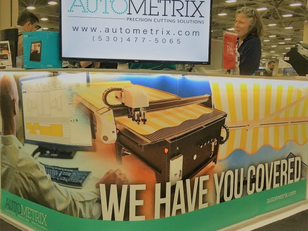 Autometrix Booth at Industrial fabric Trade Shows
