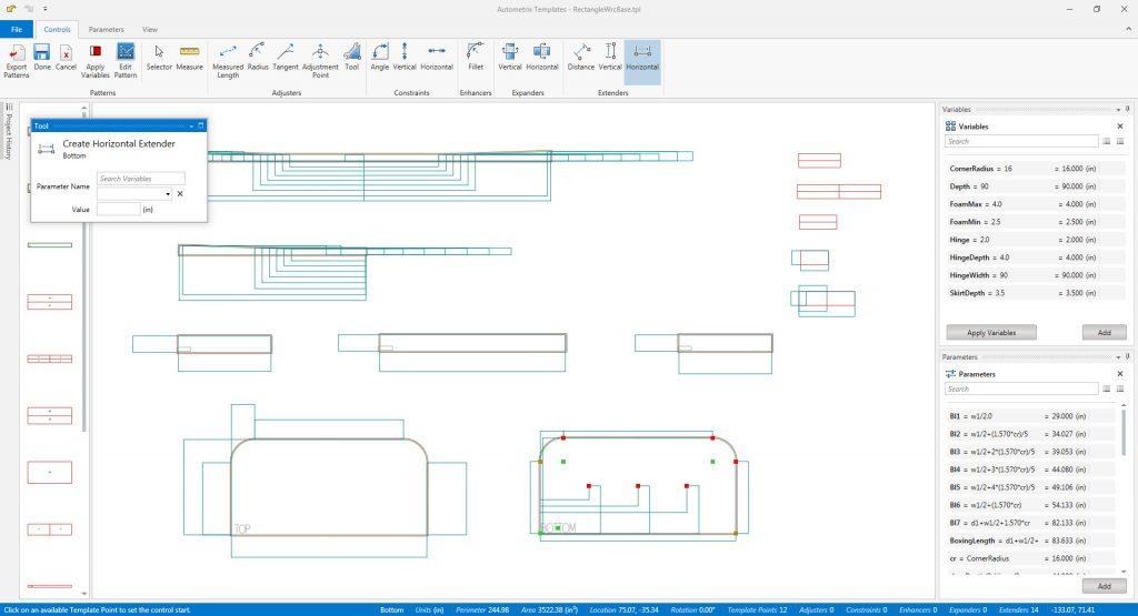 Autometrix Templates Software