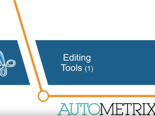 Autometrix Editing Tools 1