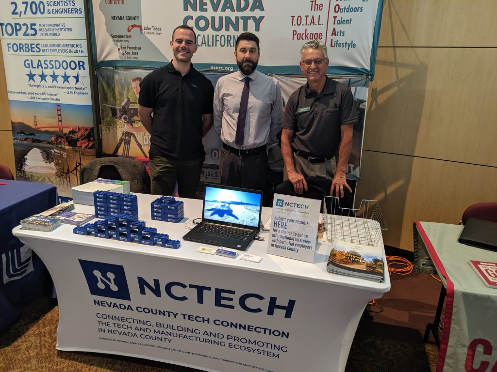AFWD with NCTechConnection at the Chico State Career Fair